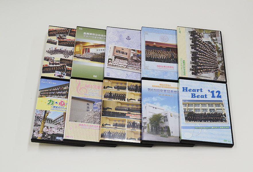 ジャケット&レーベルのサンプル DVDトールケースに写真を使用した場合