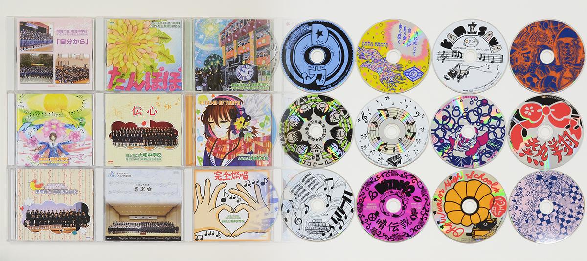 cd dvd ジャケット レーベル
